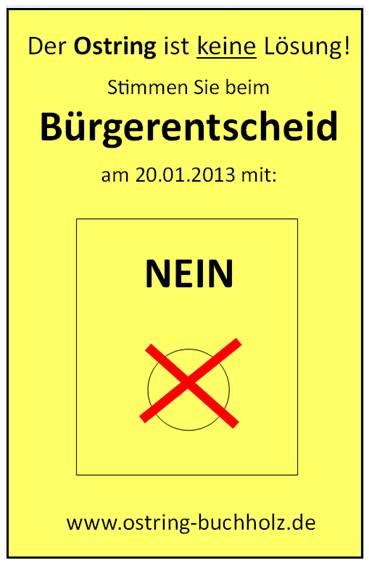 Empfehlung Bürgerentscheid